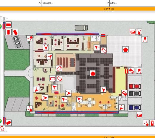 Sistema camnet enterprise for Software per planimetrie